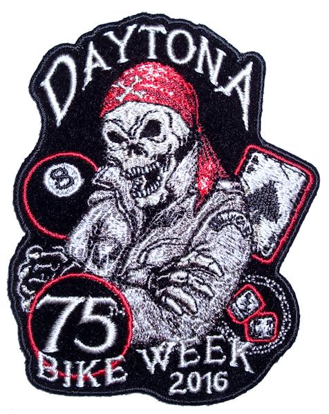 bike week 2016 biker patch