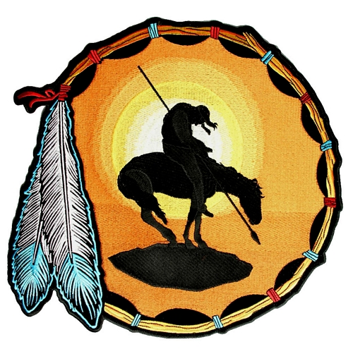 Native Indian patch