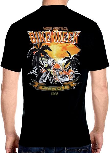 Daytona Beach bike week 2016 tee shirts