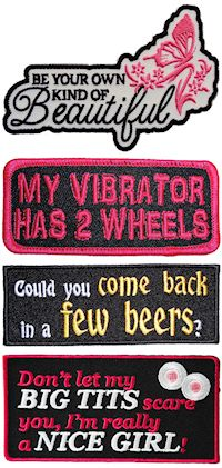 Funny, sexy and Inspirational patches