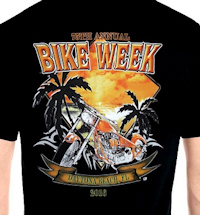 Men's bike week Tees