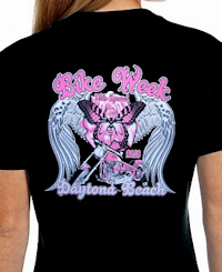 Ladies bike week Tees