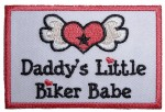Daddy's little biker babe