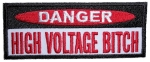 Small Patch High voltage Bitch