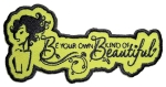 Sexy ladies biker patch - be beautiful