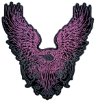 Pink Flying Eagle Ladies Biker Patch