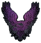 Purple Flying Eagle Patch