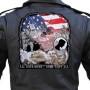 Large MIA POW biker patch