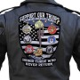 Large military biker patch