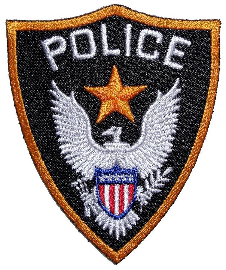 Police biker patch