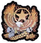 Biker patch eagle