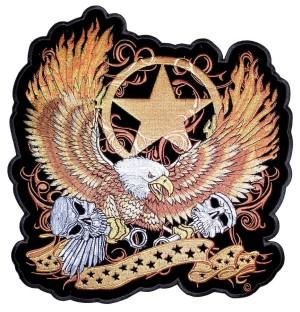 Biker patch eagle
