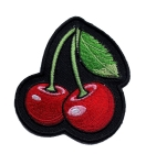 Lady rider patch cherries
