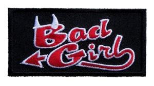 Lady rider biker patch bad girl