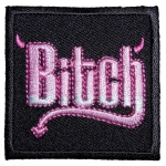 Bitch biker patch