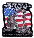 Biker Patch Military Heroes