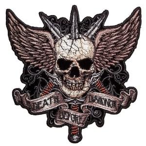 Biker patch skull