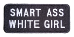 Ladies slogan biker patch