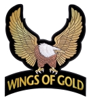 Wings of gold eagle