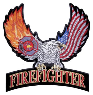 Eagle firefighter patch