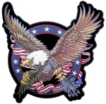 Eagle Biker Patches