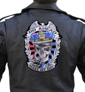 large cop patch