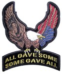 POW-MIA eagle patch