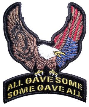 POW-MIA eagle patch