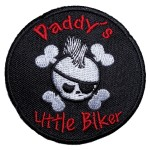 Daddy's little biker patch
