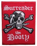 Surrender the booty pirate patch
