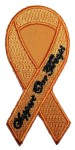 Support our troops yellow ribbon patch