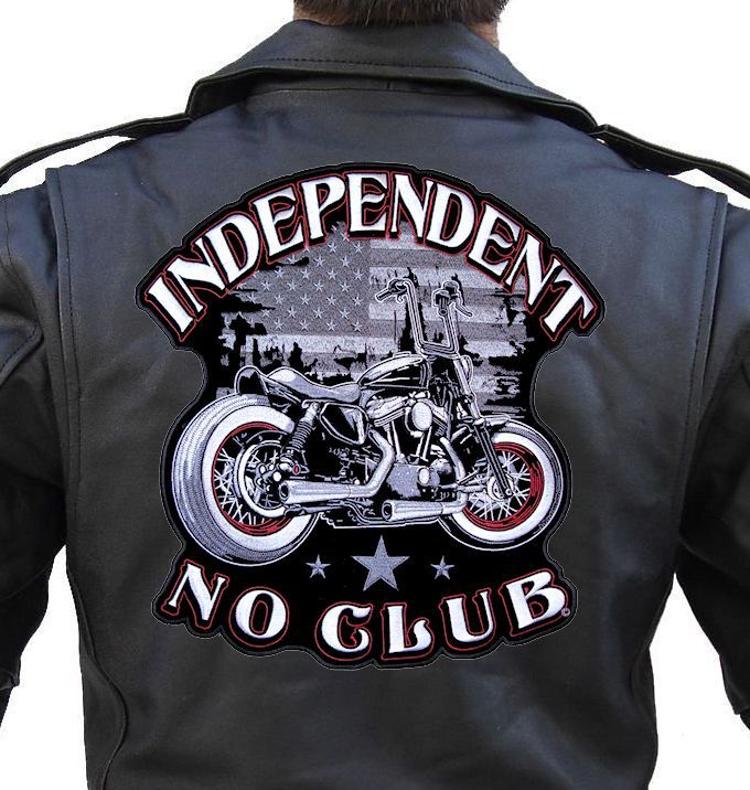 Amazon. Com: leather supreme mens independent no club motorcycle.