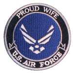 Proud wife US Air Force patch