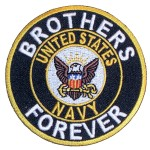 Brothers forever US Navy patch