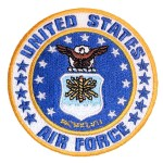 US Air Force biker patch