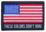 These colors don't run flag patch