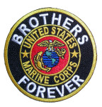 Brothers forever Marine corps patch
