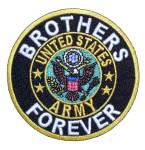 Brothers forever Army biker patch