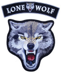 Lone wolf large 2 pc set patch