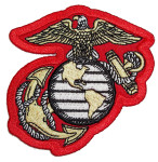 US Marines corp logo patch
