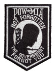Patriotic POW-MIA patch
