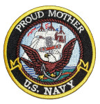Proud mother US Navy patch