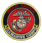 Proud Father US Marines patch