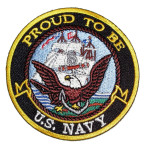 Proud to be US Navy patch