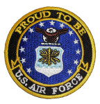 Proud to be US Air Force patch