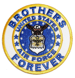 Brothers Forever US Air Force patch