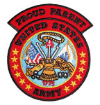 Proud parent US Army patch