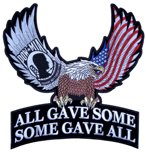 Al gave some some gave all eagle patch
