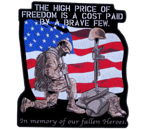 high price of freedom patch