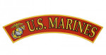 US Marines rocker patch